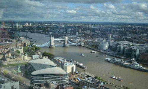 Zdjecie WIELKA BRYTANIA / - / London / The view from the Sky Garden