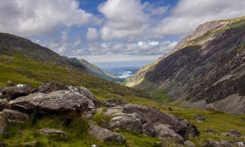 Zdjecie WIELKA BRYTANIA / Walia / Snowdonia / Pieszo na szczyt