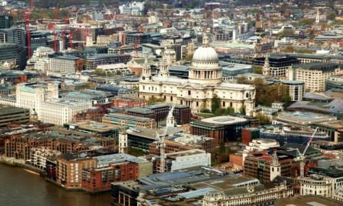 Zdjęcie WIELKA BRYTANIA / Londyn / Wieżowiec Shard  / Nad Tamizą