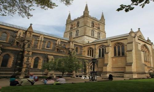 Zdjęcie WIELKA BRYTANIA / Londyn / Na południowym brzegu Tamizy / Katedra w Southwark