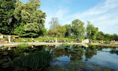 Zdjęcie WIELKA BRYTANIA / Londyn / Hyde Park / Popołudnie
