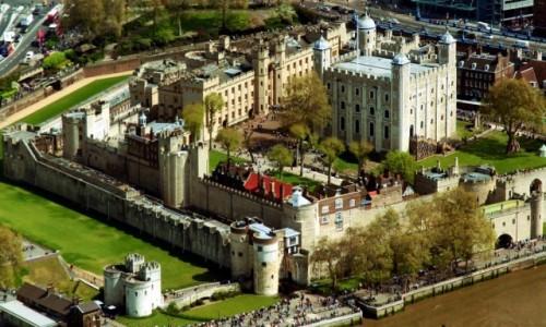 WIELKA BRYTANIA / Londyn / Tamiza / Tower of London