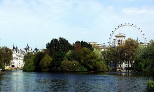 Zdjęcie WIELKA BRYTANIA / Londyn /  City of Westminster / St. James's Park