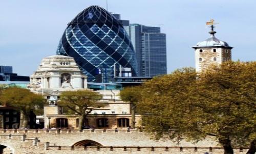 Zdjęcie WIELKA BRYTANIA / Londyn / Tamiza / Stare i nowe