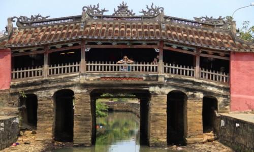 WIETNAM / Środkowy Wietnam / Hoi An / Most Japoński