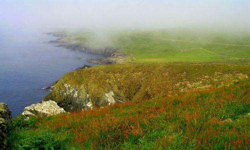 Zdjęcie WIELKA BRYTANIA / Szkocja / Szetlandy / Mgła na Sumburgh Head