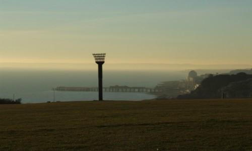 Zdjecie WIELKA BRYTANIA / East Sussex / Hastings / Z góry widać wi