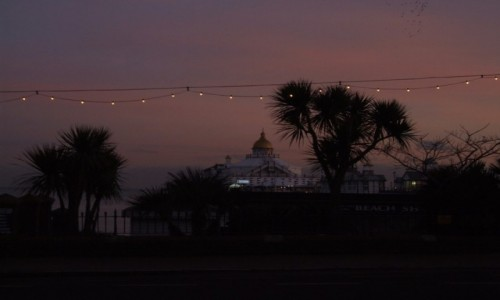 Zdjecie WIELKA BRYTANIA / East Sussex / Eastbourne / Molo w Eastbour