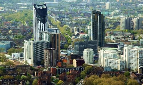 Zdjecie WIELKA BRYTANIA / Londyn / Wieżowiec Shard  / Londyńskie wież