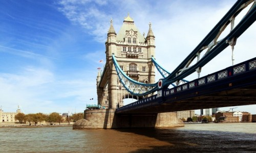 Zdjecie WIELKA BRYTANIA / Londyn /  Tamiza  / Tower Bridge