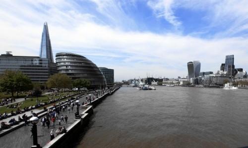 Zdjecie WIELKA BRYTANIA / Londyn / Tower Bridge / Tamiza