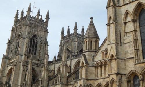 Zdjecie WIELKA BRYTANIA / North Yorkshire / York / Katedra i Metropolitalny Kościół pod wezwaniem św. Piotra w Yorku