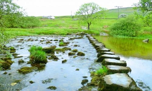 Zdjecie WIELKA BRYTANIA / Yorkshire / Dales National Park / Po kamykach