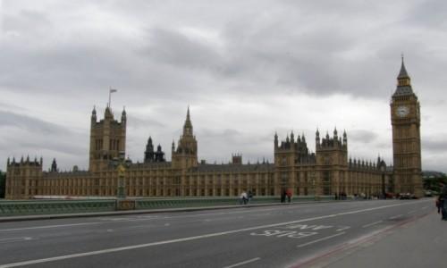 Zdjecie WIELKA BRYTANIA / Londyn. / Londyn. / Londyn - Parlament.