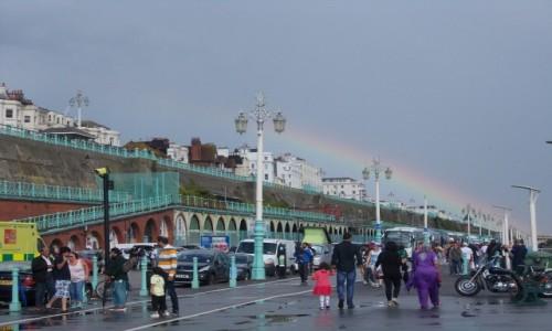 Zdjęcie WIELKA BRYTANIA / South East England / Brighton / Tecza
