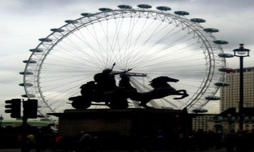 Zdjecie WIELKA BRYTANIA / Wielki Londyn / Londyn / Rydwan w kołowrotku