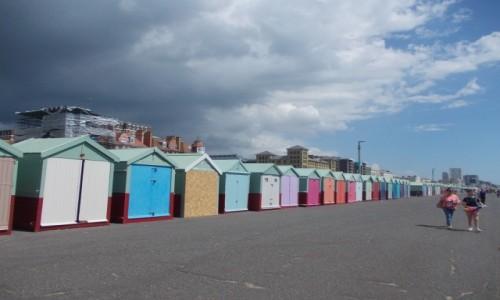Zdjęcie WIELKA BRYTANIA / South East England / Brighton / Domki