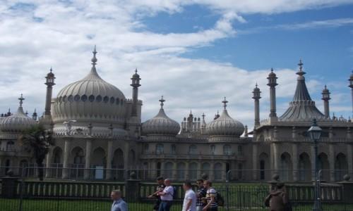 Zdjecie WIELKA BRYTANIA / South East England / Brighton / palac