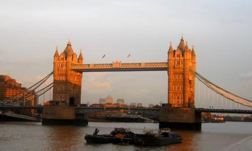 Zdjęcie WIELKA BRYTANIA / Wielki Londyn / Londyn / Tower Bridge