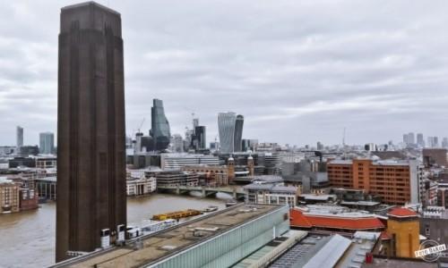 Zdjecie WIELKA BRYTANIA / - / Tate Modern, London / Widok z Tate Modern