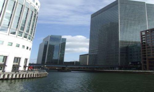 Zdjęcie WIELKA BRYTANIA / Canary Wharf / Londyn / DZIELNICE LONDYNU