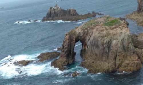 WIELKA BRYTANIA / Kornwalia / Land's End / Przybrzeżne skały