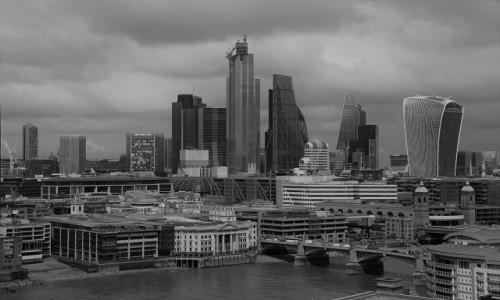Zdjecie WIELKA BRYTANIA / Londyn / . / black and white