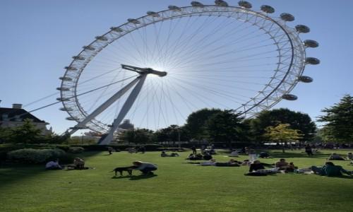 Zdjecie WIELKA BRYTANIA / London / Londyn  / London Eye