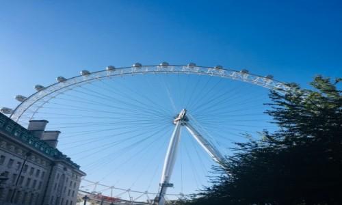 Zdjecie WIELKA BRYTANIA / London / Londyn  / Londyńskie oko