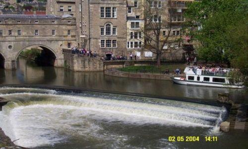 Zdjęcie WIELKA BRYTANIA / brak / Bath / Bath Pulteney Bridge
