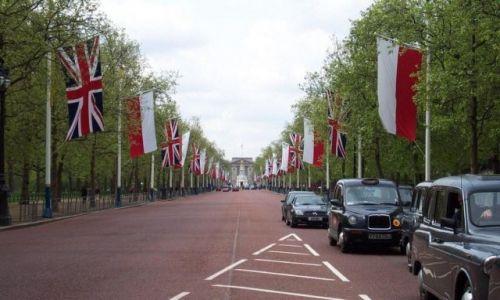 Zdjecie WIELKA BRYTANIA / brak / Londyn / Droga do pałacu Buckingham