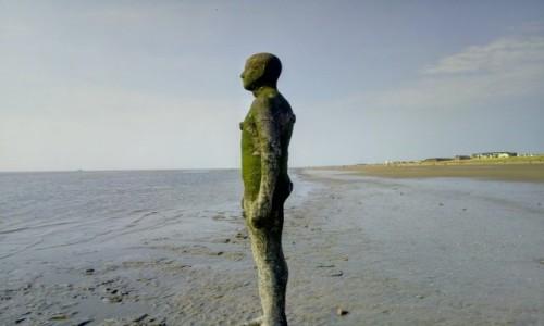 Zdjecie WIELKA BRYTANIA / Merseyside / Liverpool / Rzeźba -Antony Gormley