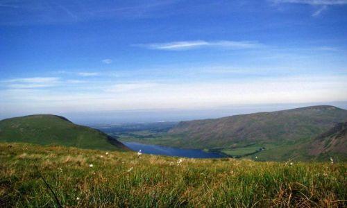 Zdjecie WIELKA BRYTANIA / Cumbria / Lake District / Wast water / gorska laczka