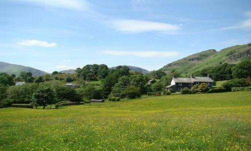 Zdjęcie WIELKA BRYTANIA / Lake District / okolice Ambleside / cichosza  cichosza
