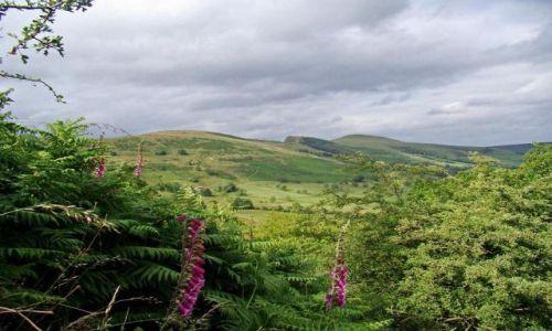 Zdjecie WIELKA BRYTANIA / Derbyshire / Castelton / zdecydowanie wole przestrzen