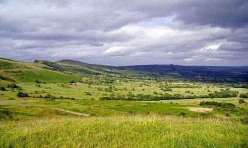 Zdjecie WIELKA BRYTANIA / Derbyshire / Castelton / okolica Castelton