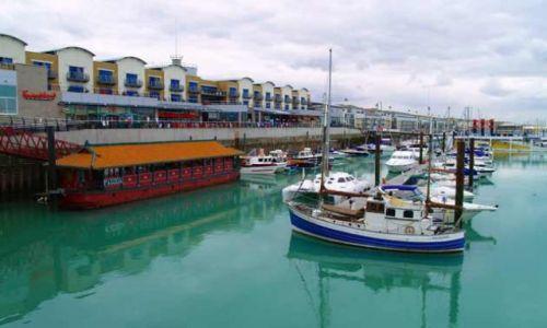 Zdjęcie WIELKA BRYTANIA / Brighton / Wschodnia przystań / Lazuru przystań...