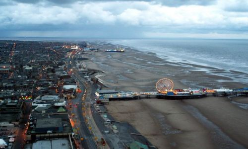 Zdjęcie WIELKA BRYTANIA / Lancashire / Blackpool / Panorama Blackpool