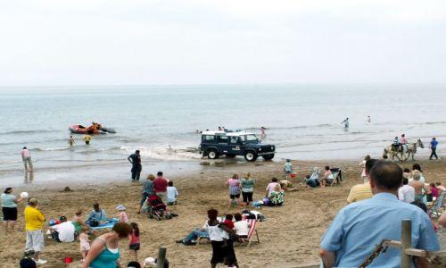 Zdjecie WIELKA BRYTANIA / Lancashire / Blackpool / Plaża