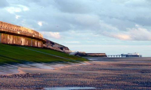 Zdjęcie WIELKA BRYTANIA / Lancashire / Blackpool / Plaża