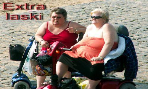 Zdjecie WIELKA BRYTANIA / Lancashire / Blackpool / Na plaży