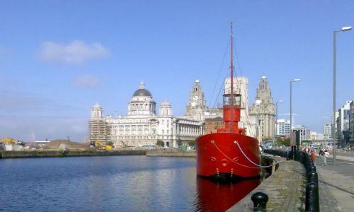 Zdjęcie WIELKA BRYTANIA / Anglia / Liverpool / Port