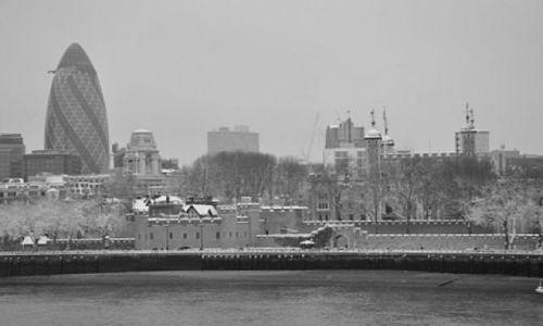 Zdjecie WIELKA BRYTANIA / Anglia / Londyn / Twierdza zima