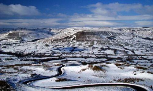 Zdjecie WIELKA BRYTANIA / Derbyshire / Peak District / luty