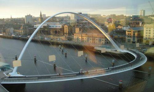 Zdjecie WIELKA BRYTANIA / Nort East / Newcastle / Millennium Bridge