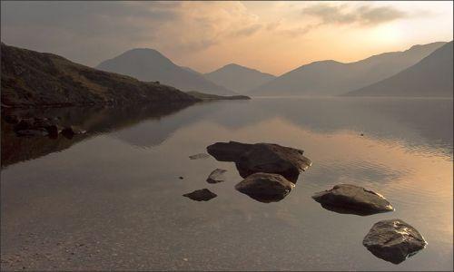 Zdjecie WIELKA BRYTANIA / Lake District / Wast Water / Wast Water