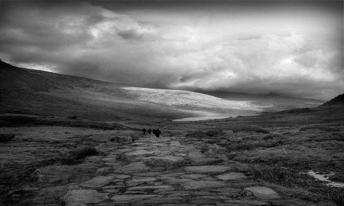 Zdjecie WIELKA BRYTANIA / Snowdonia / Walia / Cwm Idwal