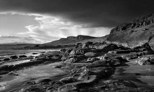 Zdjecie WIELKA BRYTANIA / Highlands / Isle of Skye, Szkocja / Staffin Bay