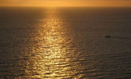 Zdjecie WIELKA BRYTANIA / Lake District / St. Beese / zachód słońca