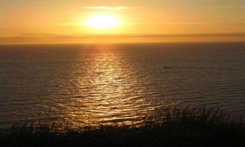 Zdjecie WIELKA BRYTANIA / Lake District / St. Beese / zachód słońca 2